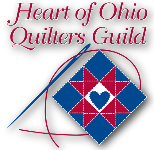 Heart of Ohio Quilters' Guild Logo